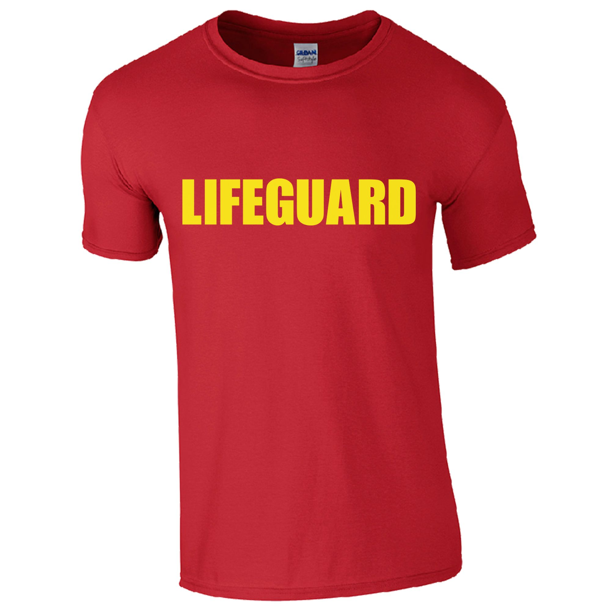 a15c90d6cd3c CHILDRENS LIFEGUARD RED T-SHIRT