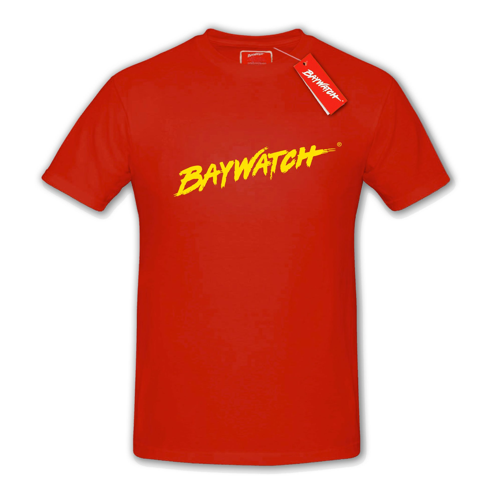 77528c80f8f LICENSED BAYWATCH ® RED T-SHIRT .