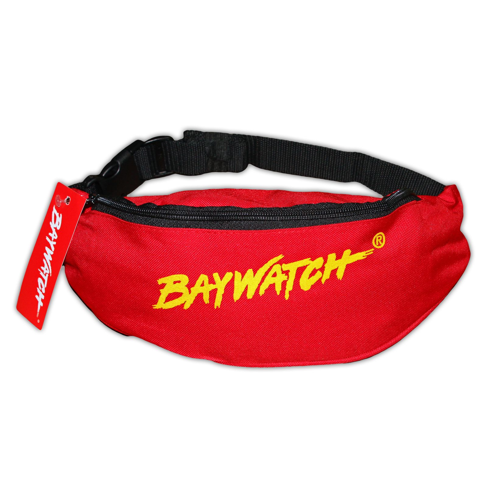 d972eca069cc LICENSED BAYWATCH ® RED YELLOW BELT BAG .
