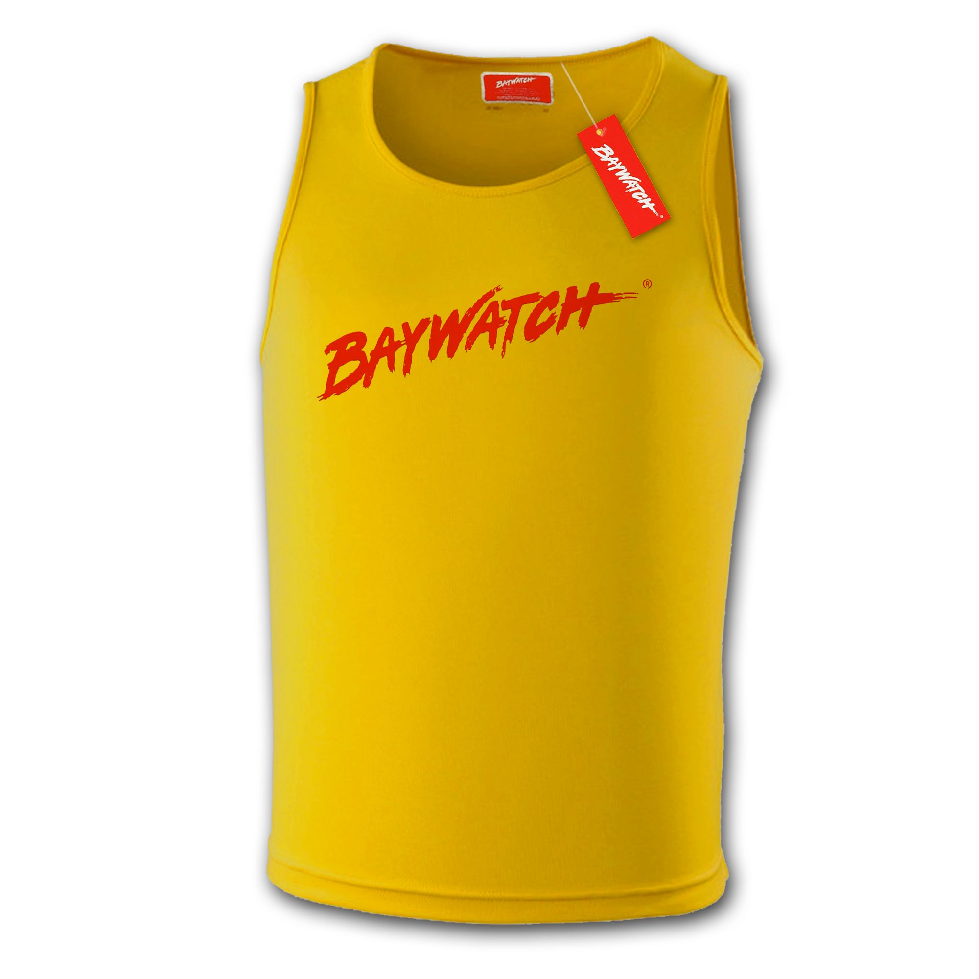 aeea5e3cefd Licensed Baywatch Yellow Cooltex Vest
