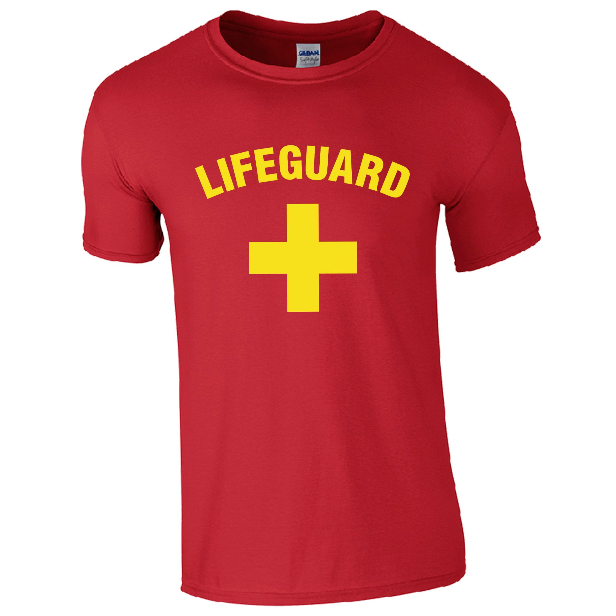 Lifeguard red t shirt for The red t shirt company